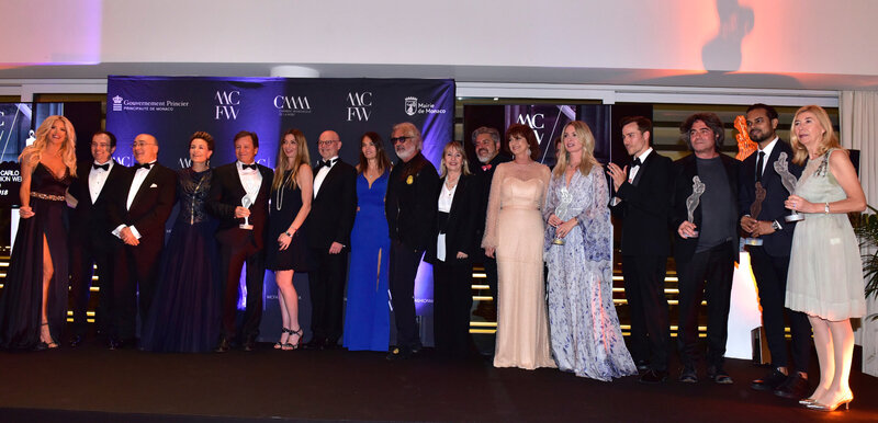MONTE CARLO FASHION AWARDS GROUP PHOTO BY SAVERIO CHIAPPALONE