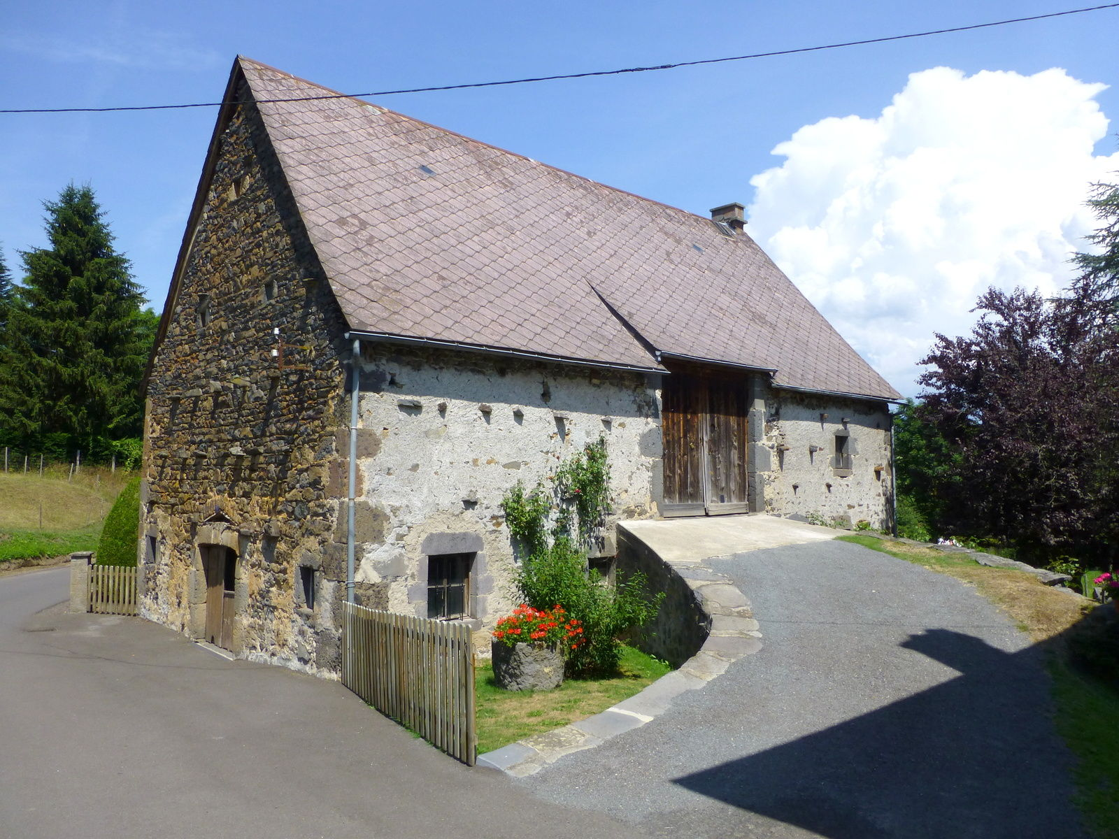 grange à Saint-Bonnet d'Orcival