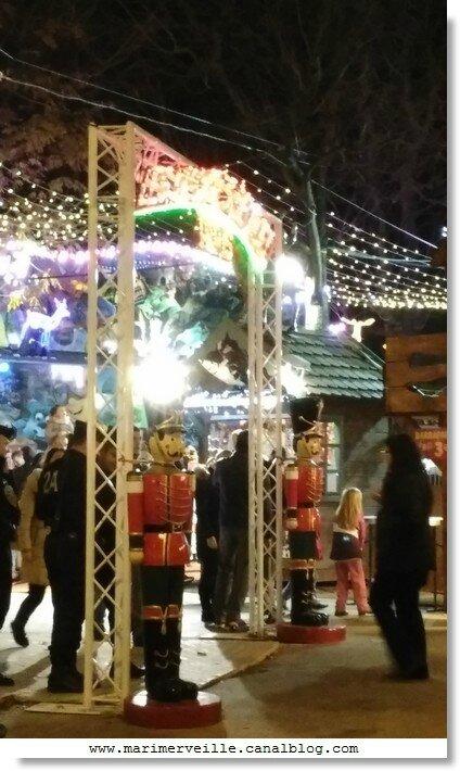 village de Noël champs élysées marimerveille