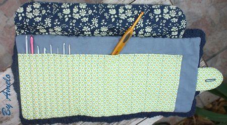 Trousse à crochets ouverte