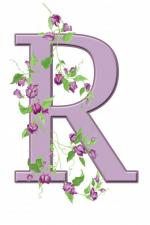 letter-r-floral-initial