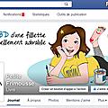 Petite frimousse débarque sur facebook! ; )