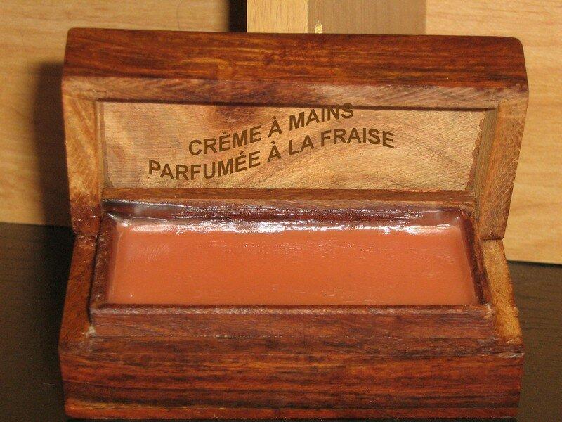 Crème à mains au Parfum de Fraises