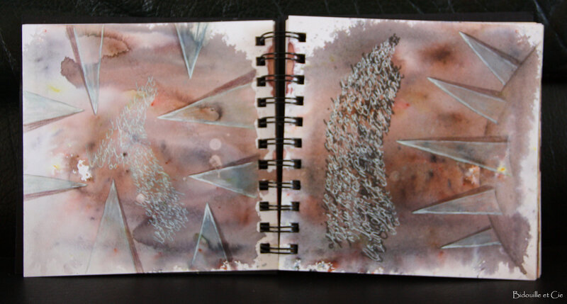 art journal gribouille 4