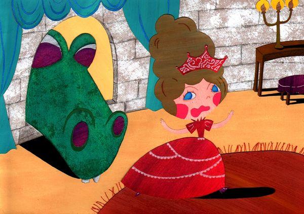 dragon et princesse 1