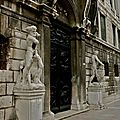 Statuaire du palazzo Pisani.