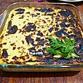 Gratin de chou fleur creme et parmesan