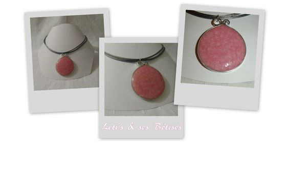 Montage collier sable