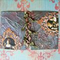 Mes premières atc (artist trading cards)