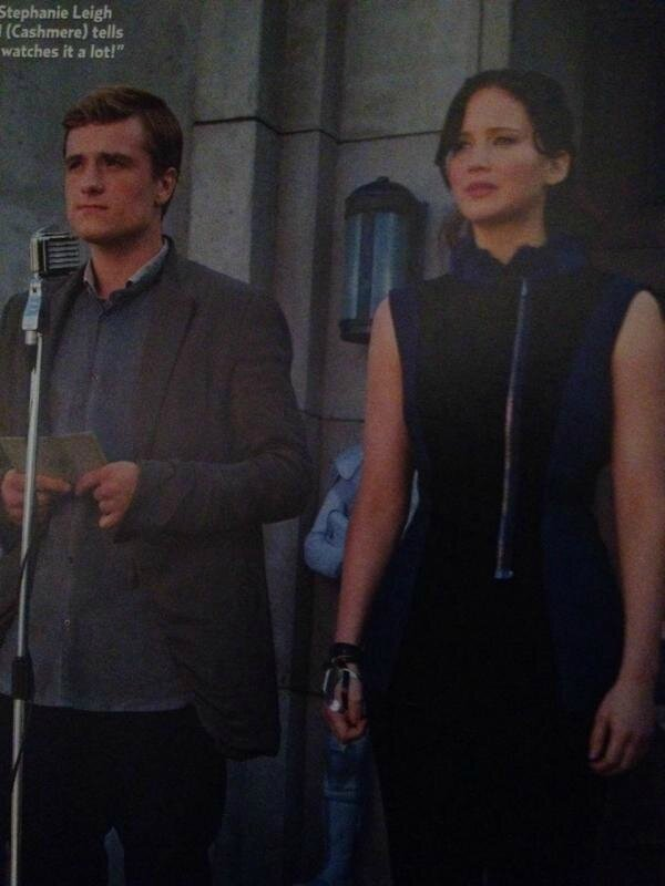 Katniss et Peeta Catching Fire