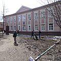 22/04 Au lycée N°16 de Kungur (Lycée du gymnase)