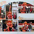 Disneyland paris - halloween en double page !