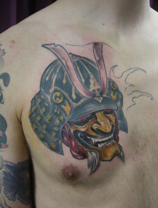 Masque Guerrier Samourai Tattoospiritprod