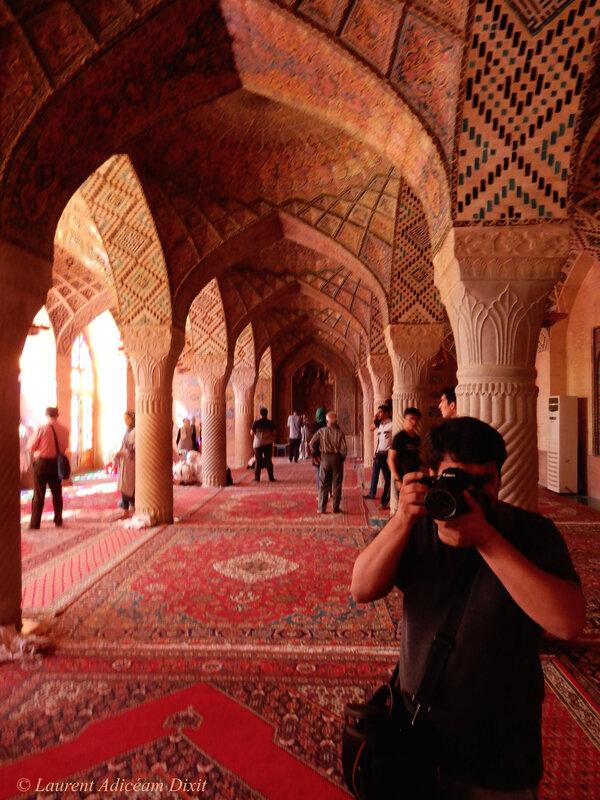 La mosquée Nasir Al-molk, Shiraz LAD