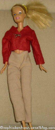 couture Barbie pantalon veste
