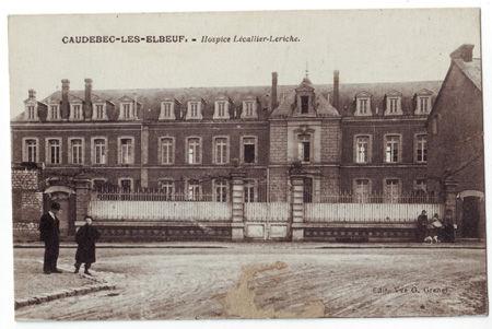 76 - CAUDEBEC LES ELBEUF - Hospice Lecallier Leriche