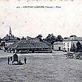 1917-09-16 _poitou-charente-86-vienne-chateau-garnier-place-animation
