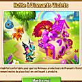 Habitat pour animaux à diamant