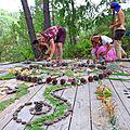 femmes sauvages en mandala