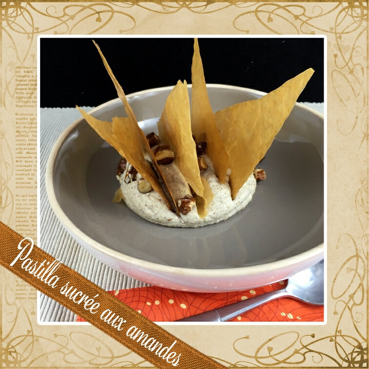 Pastilla sucrée aux amandes (scrap)