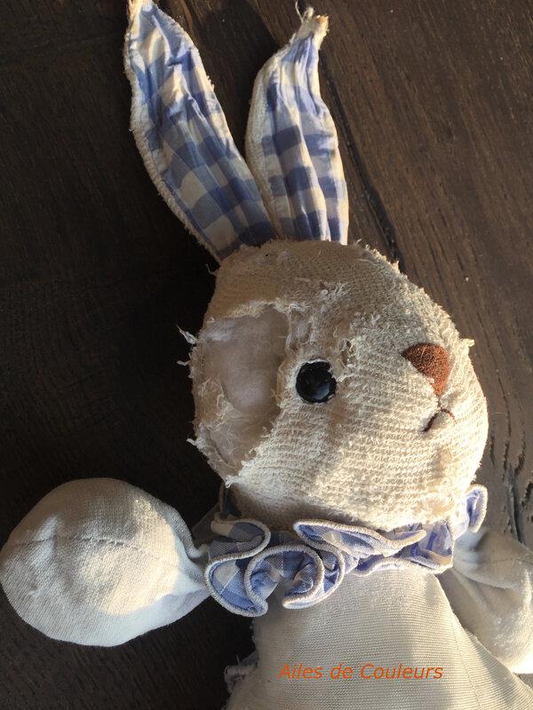 Doudou lapin 2