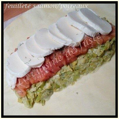 feuilleté saumon-poireau2-1-1