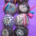 * broches vintage **
