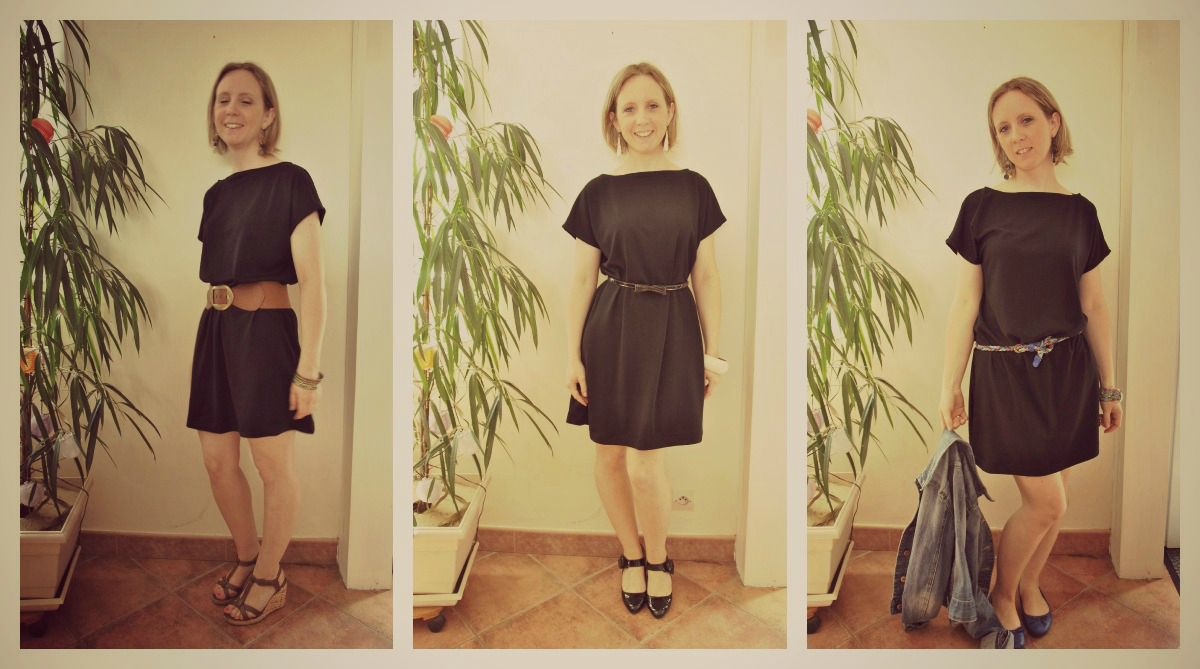Petite Garde Robe ma petite robe noire - mes carnets de couture