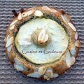 Tartelette financière noisette-pomme reinette