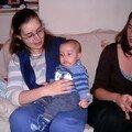 Valentin, sa maman et Laurène