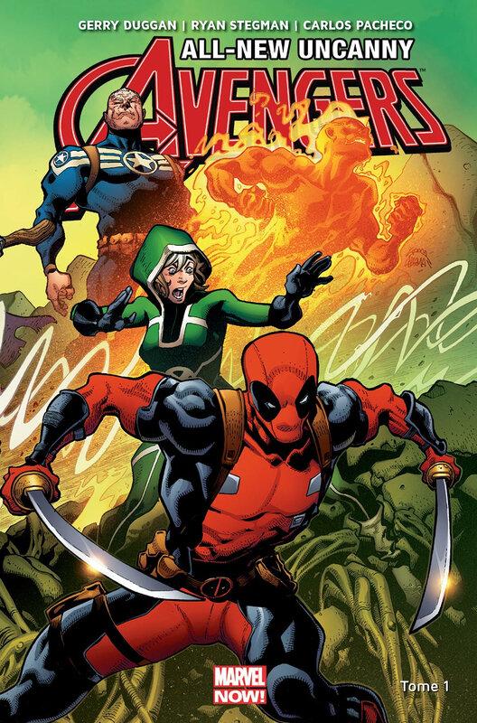 marvel now all new uncanny avengers 01 futur perdu