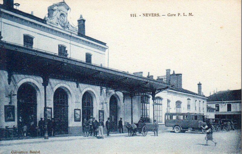 nevers 58 gare