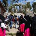 Prise en charge des touristes à Amantani