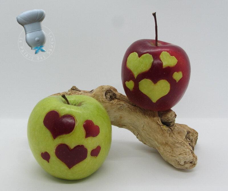 Pomme coeurs #4