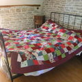 Réf: pl3plaid en patchwork de 2m de largeur/ 2m20