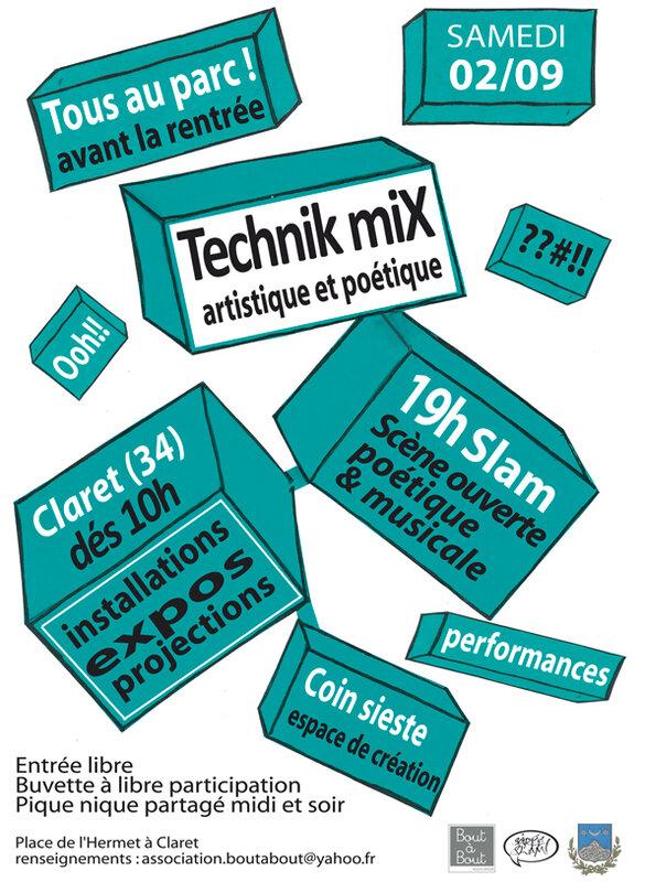 Technik miX web