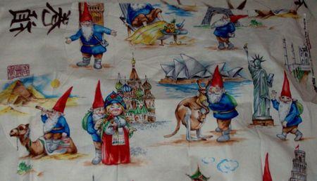 tissu david le gnome1