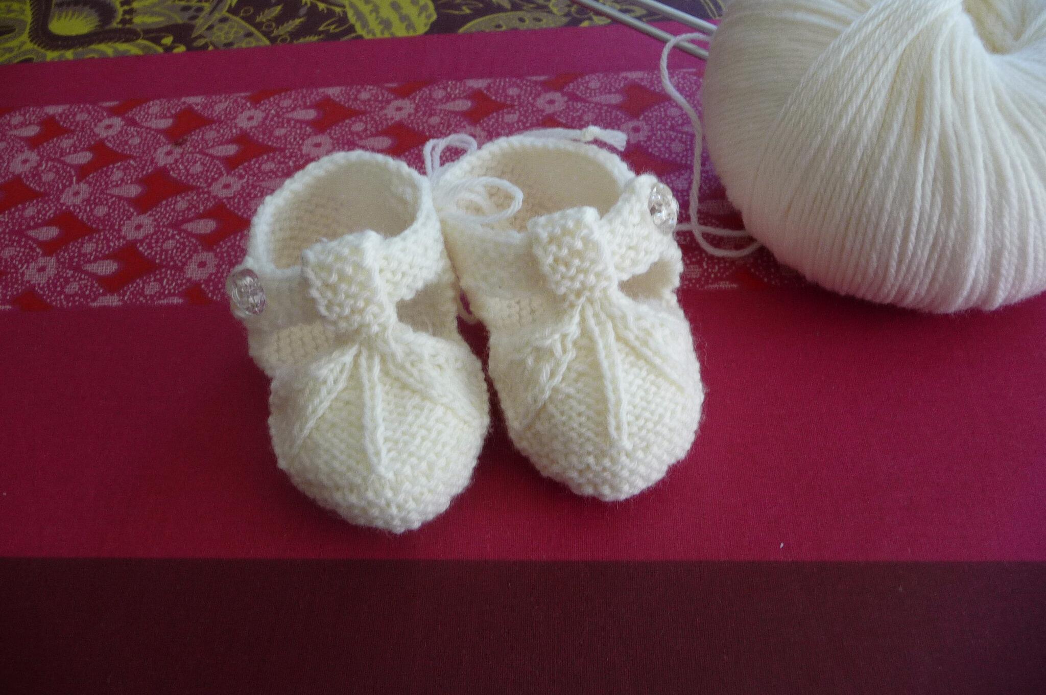Une paire de chausson pour petite princesse