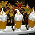 Verrines meringées au lemon curd sans beurre cuit au micro-onde