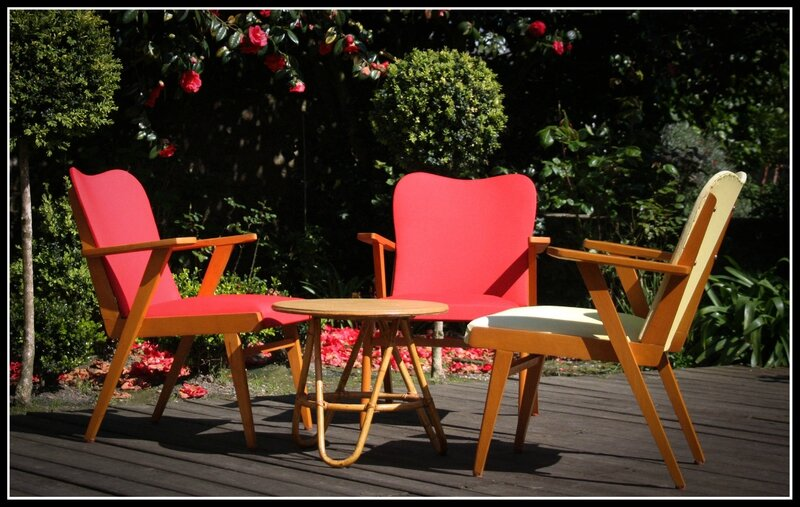 706 fauteuils vintage 50s