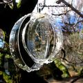 La magie de noël au jardin - diamants de récup'