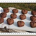 Des brownies revisités
