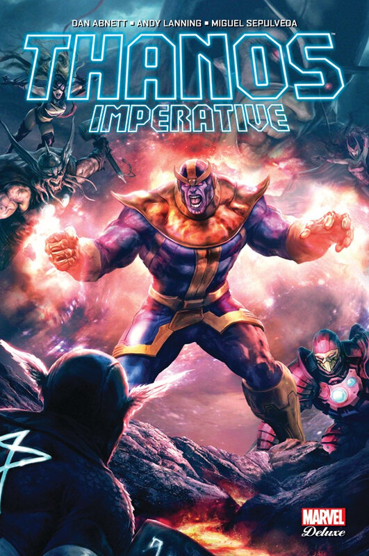 marvel deluxe thanos imperative