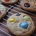 Mes cookies multicolors