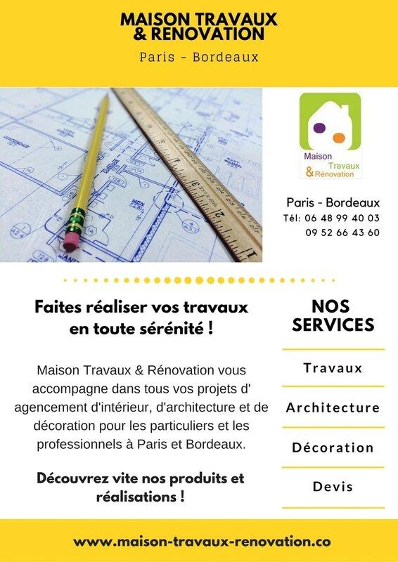 Travaux rénovation Bordeaux 33