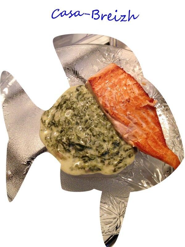 saumon oseille