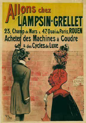 Affiches machines à coudre (1)