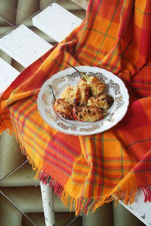 Piments farcis aux crevettes - antilles 4