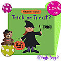 Trick or treat, melanie walsh, halloween cycle 2