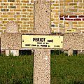 Periot rené (vendoeuvres) + 12/01/1915 malo les bains (59)